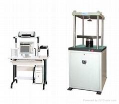 16.WDW-X Series Full Auto Rubber Static Stiffness Testing Machine