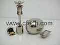 2012 New Metal Egg Shape Usb Flash Driver .Usb Flash memory .Usb memory stick