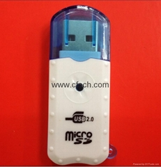 Micro SD Card Reader .TF card Reader All Memory Card Reader  Usb Card Reader