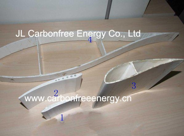 Vertical Axis Wind Turbine Blades