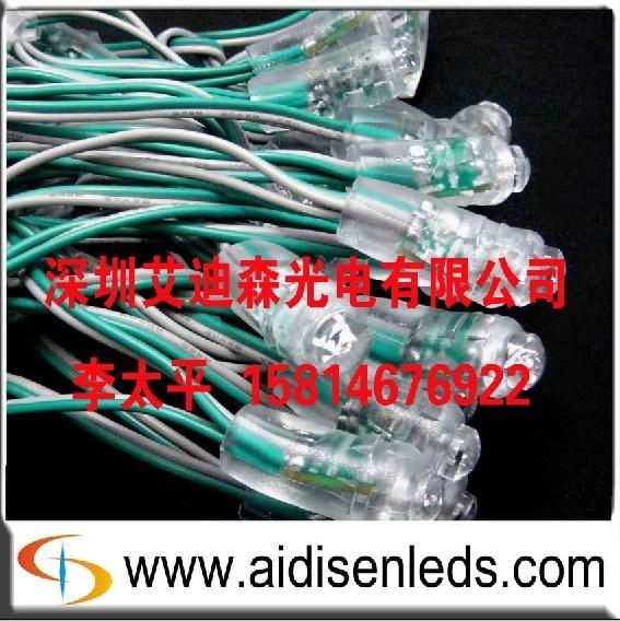 供應LED穿孔字燈串 1