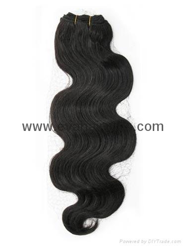 human hair weft 2