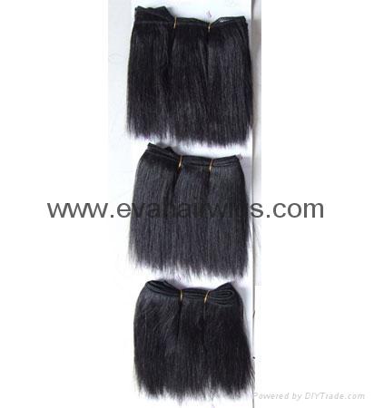 human hair weft 4