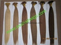 100% remy keratin pre-bonded hair extension