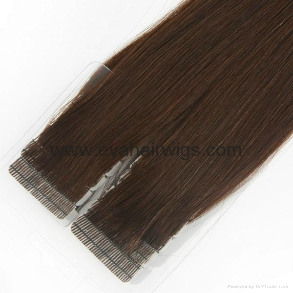 tape weft hair extension 1