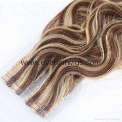 tape weft hair