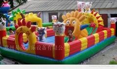 奶粉充氣城堡儿童遊樂玩具充氣蹦蹦床