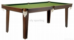 MDF snooker table