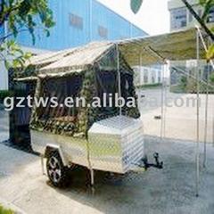motorcycle camper trailer