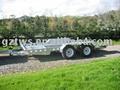 Galvanized automobile trailer