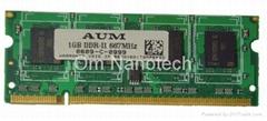 DDR2 1GB SODIMM 667Mhz PC5300U
