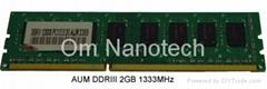 DDR3 PC10660U 2GB 1333Mhz