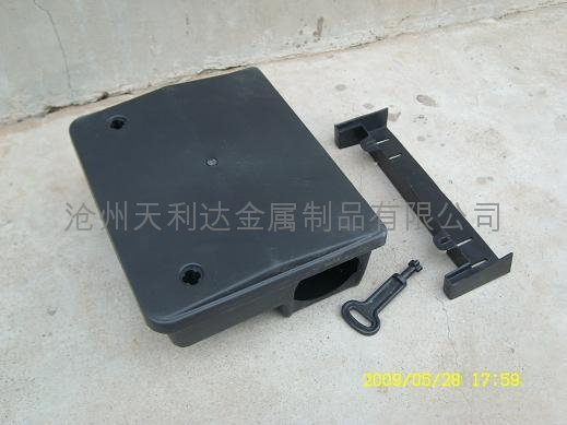 黑色pp 鼠类诱饵盒 1