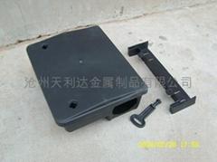 黑色pp 鼠类诱饵盒
