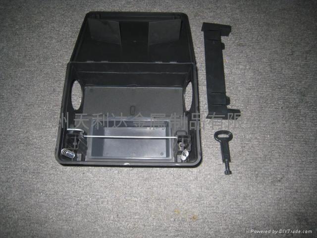 黑色pp 鼠类诱饵盒 4