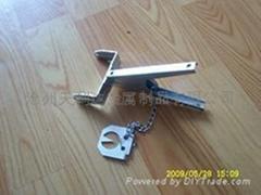 Scissor  mole trap