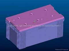 蓄电池外壳模具