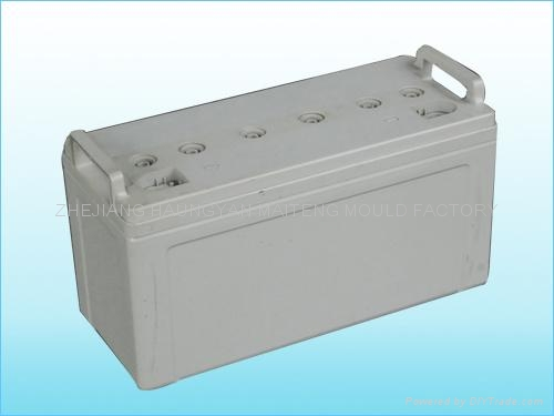 蓄電池外殼模具 1