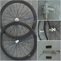 50mm tubular carbon racing wheels