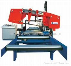 CNC Band Sawing Machine for H-beams