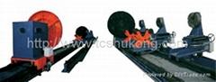 Combination flange welding machine