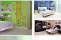 房間傢具衣櫃木板彩色圖案印花機