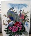 瓷磚地板立體花紋圖案彩繪噴印設