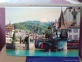 PC泡沫板壁畫彩色花紋圖案打印