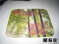 硅膠鼠標墊製作精美圖案印花機