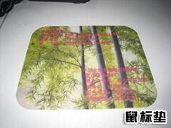 硅胶鼠标垫制作精美图案印花机