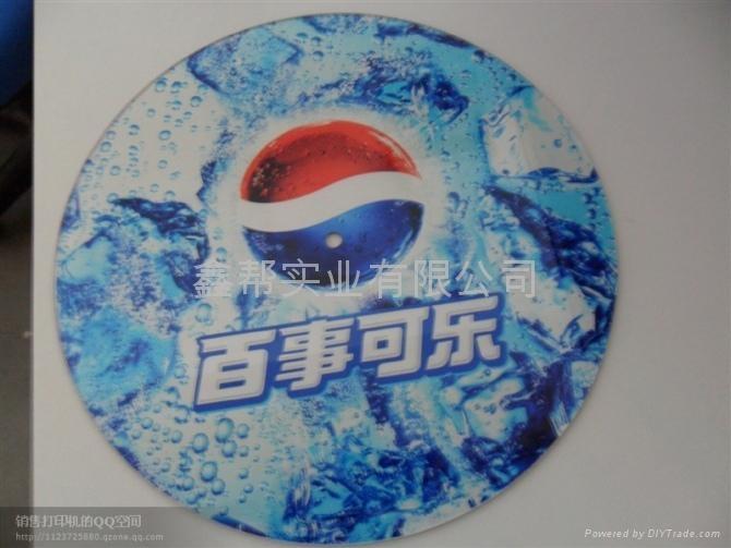有機玻璃彩色圖案噴墨印花機 2