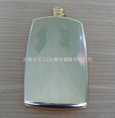 香水瓶(PP料)UV真空鍍金色