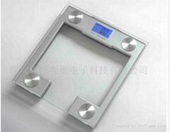 供应电子健康秤UV胶