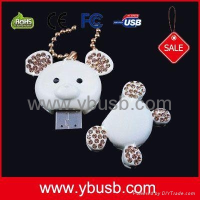 diamond mickey usb Flash Drive 1