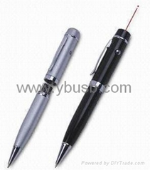 4GB laser pointer pen usb