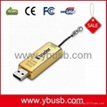 gold bar usb Flash Drive