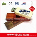 wooden usb flash memory Flash Drive