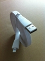 Flat Cable USB Cable For Iphone5