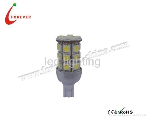T10 Car LED bulb 5050*27PCS 12V White 1