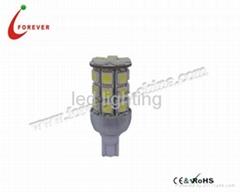 T10 Car LED bulb 5050*27PCS 12V White