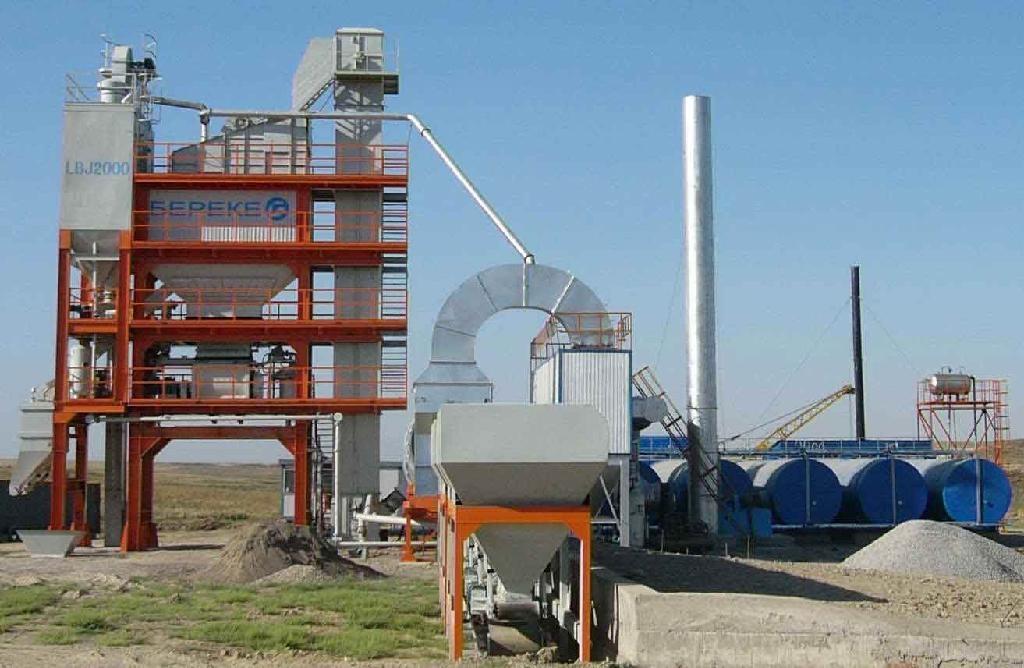 Asphalt Mixing plant(LBJ2000) 1