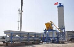 Concrete mixing plant(HZS50)