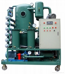 two-stagevacuum tranformer oil  purifier oil recycling oil filtration