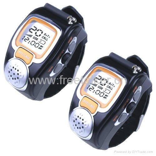 Wrist Watch Walkie Talkie 1