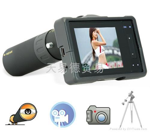 Digital Video Binocular Sports Camera Great 40x Zoom 2