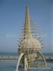 深圳市城市建筑标志雕塑