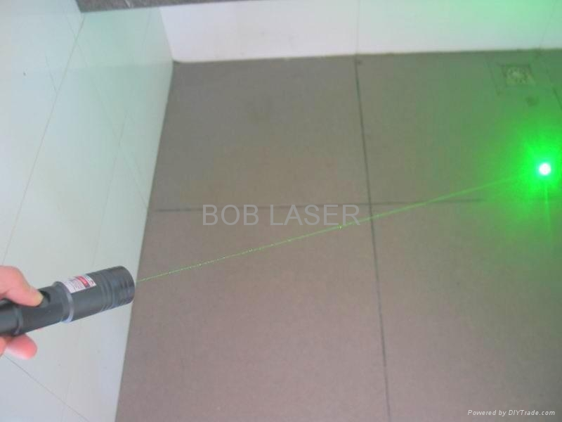 200mw Adjustable Green Laser Pointer With Safety Key