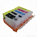 pgi-5,CLI-8 refillable ink cartridge for