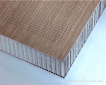 Wood Grain Aluminum Honeycomb Panel Renoxbell China