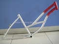 beach bicycle frame and fork